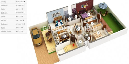 4 BHK SECOND FLOOR