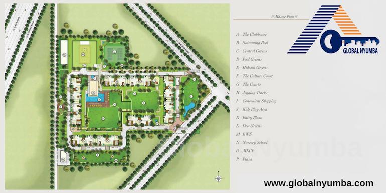 Emaar Imperial Gardens - Master Plan