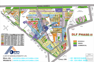 dlf-phase-2-map