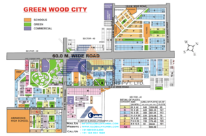 greenwood-city-map