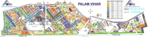 palam-vihar-map