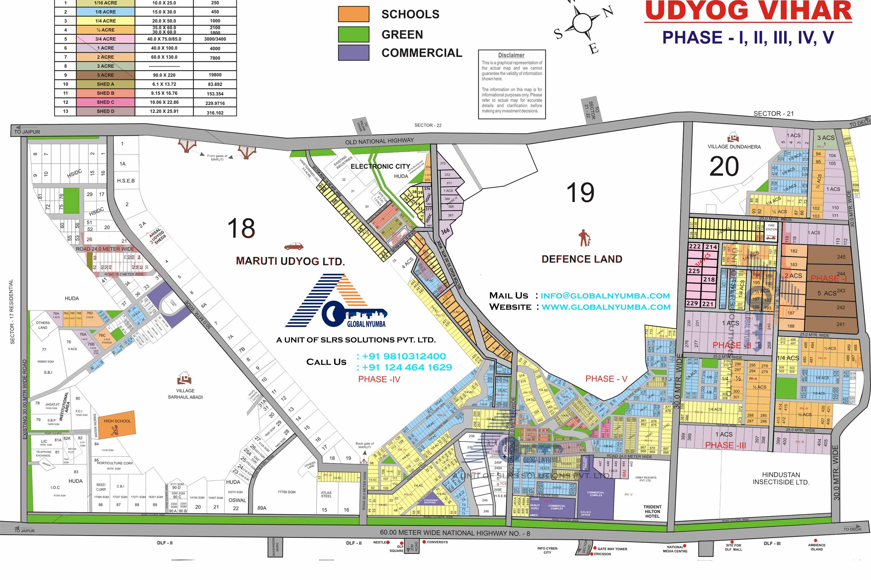 udyog-vihar-map