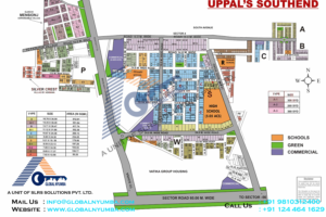 uppal-southend-map