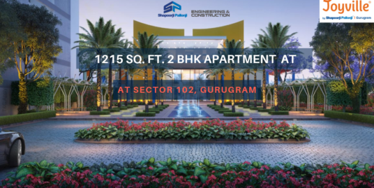 1215 sq. ft./ 2 BHK Apartment in Joyville Gurgaon, Sector 102