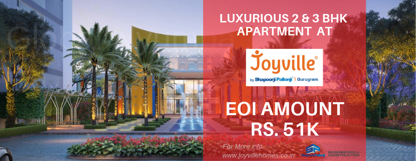 2/3 BHK Apartment in Joyville Gurgaon - Global Nyumba