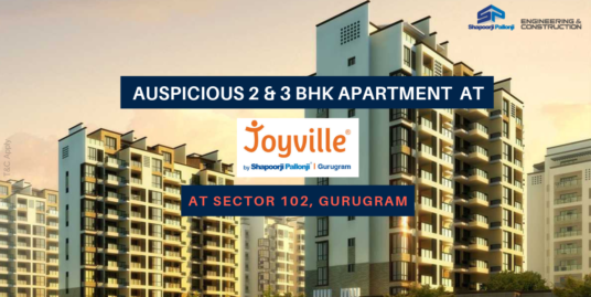 3 BHK Apartment At Joyville Gurgaon, Sector 102, Dwarka Expressway