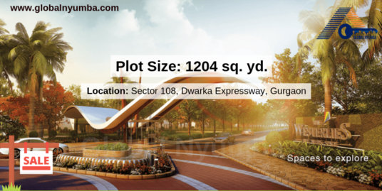 1204 sq. yd. Plot in Experion The Westerlies, Sector 108, Dwarka Expressway, Gurgaon