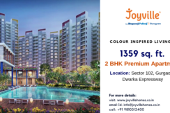 1369 sq. ft. 2 bhk apartment in Joyville Sector 102