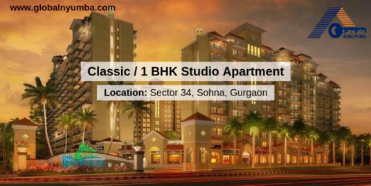 Classic Apartment/ 1 BHK Studio Apartment In CHD Y Suites
