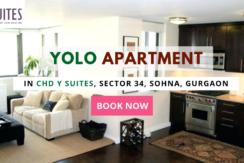 Yolo Apartment - CHD Y Suites, Gurgaon