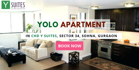 Yolo Apartment/ 1 BHK Studio Apartment In CHD Y Suites