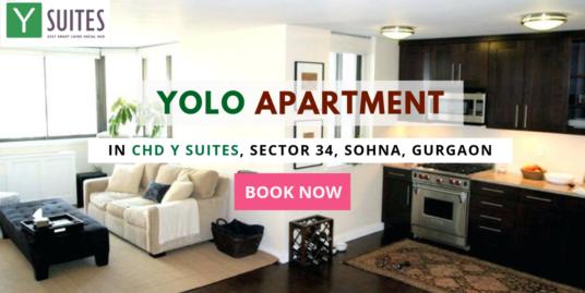 Yolo Apartment/ 1 BHK Studio Apartment In CHD Y Suites