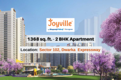 1368 Sq.Ft. 2 BHK Apartment In Joyville Gurgaon