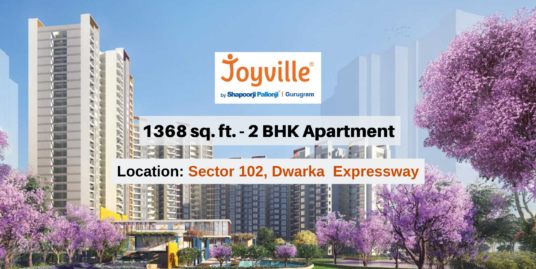 1368 Sq.Ft. 2 BHK Apartment In Joyville Gurgaon Sector 102, Dwarka Expressway