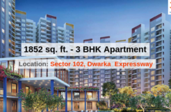 1852 Sq.Ft. 3 BHK Apartment In Joyville Gurgaon