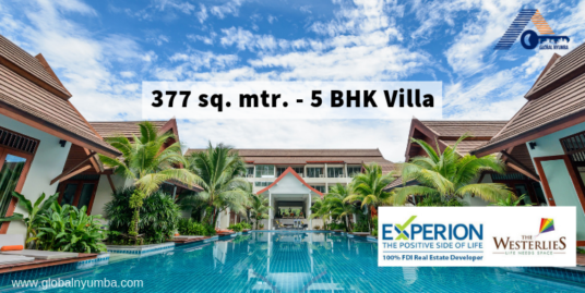 377 Sq. Mtr. – 5 BHK Villa In Experion The Westerlies, Sector 108, Dwarka Expressway, Gurgaon