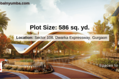 586 sq. yd. Plots For Sale in Experion The Westerlies