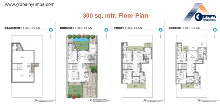 Floor Plan - 5 bhk villa in sector 108